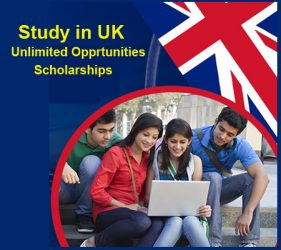 """Study in UK with Scholarships"""