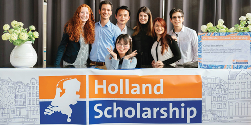 Bachelor's & Masters in the Netherlands – Holland Scholarship 2019-2020