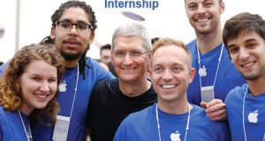 """Internship at Apple"""