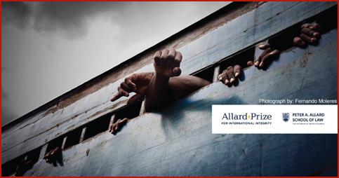 Allard Prize for International Integrity in Canada 2019