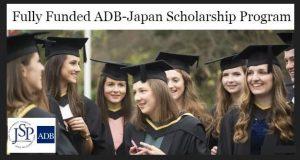 """""""ADB Japan Scholarships Program"""""""