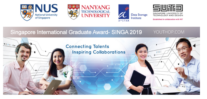 Scholarships in Singapore for international students 2020/21