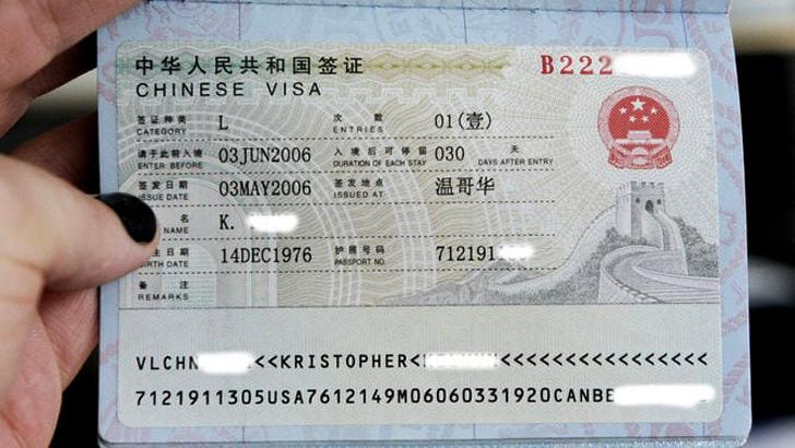 """Fake visa"""
