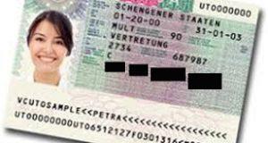 """""""Visa Sticker"""