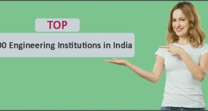 """""top 100 engineering universities in India"""
