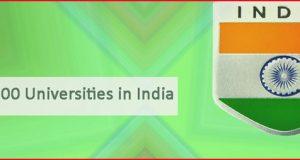 """""""top 100 universities in India"""""""