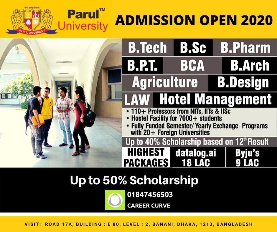 """Parul University India"""