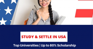 """Study in USA with Schoarships"""