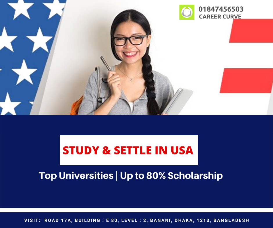 Study in USA at Top Universities with Full Scholarships   Career Curve