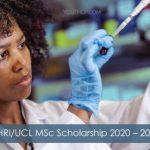 AHRI/UCL MSc Scholarship 2020-2021 in UK