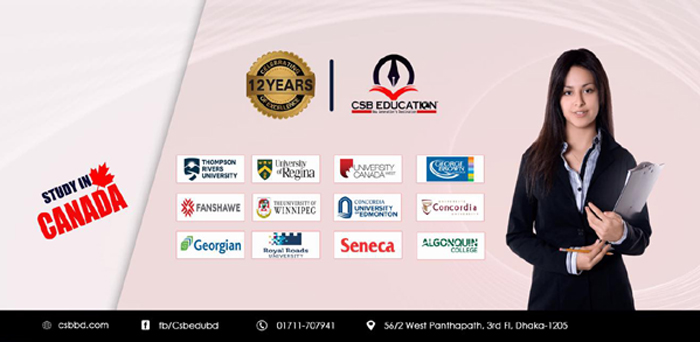 Study & Work in Canada from Bangladesh with CSB Education