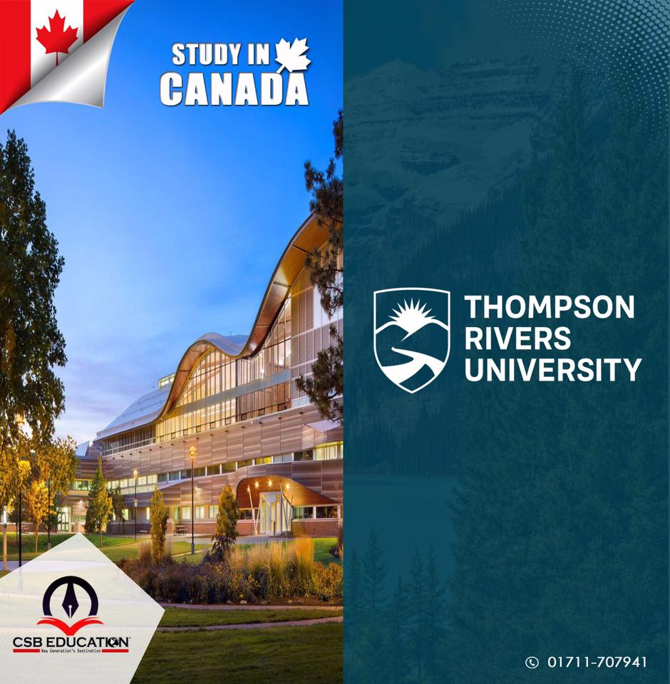 Study in Thomson Rivers University of Canada with CSB Education
