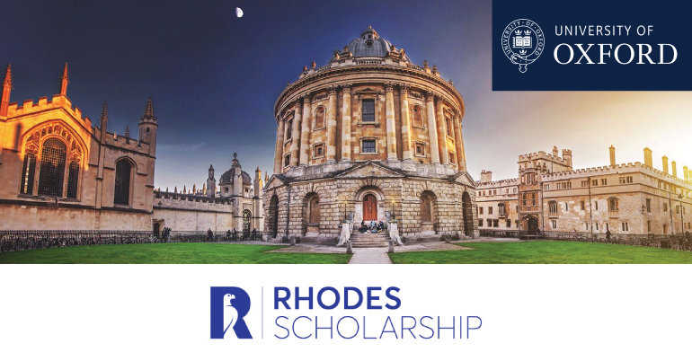 The Rhodes Scholarship for Postgraduate Study in UK