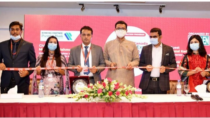 'Uk-Canada Edu Expo 2020' Starts at Dhaka Sonargaon Hotel