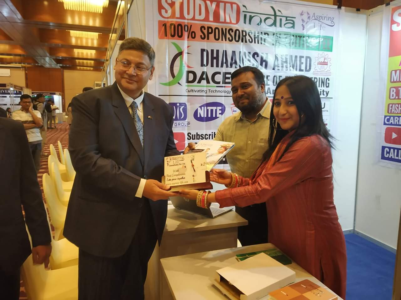 INDSAT Training program being launched for Scholarship to Study in India